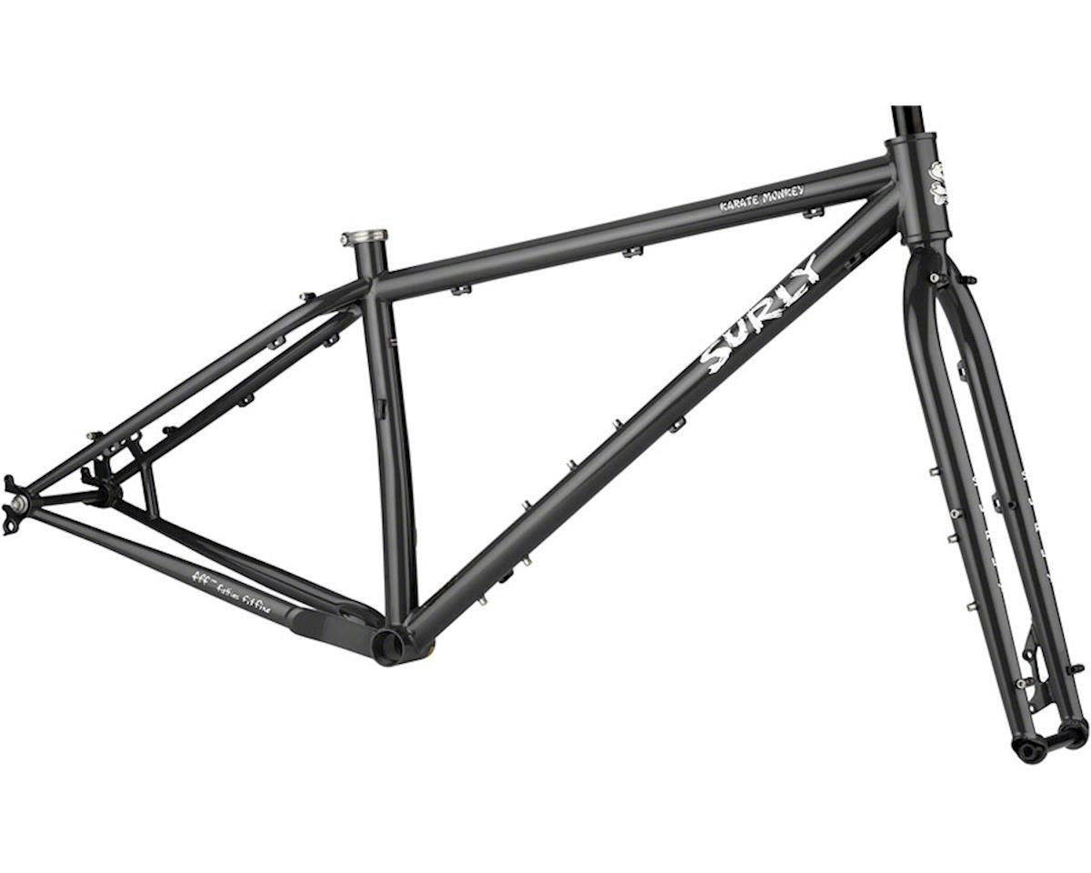 Surly Karate Monkey Frameset (Hi-Vis Black) (M)