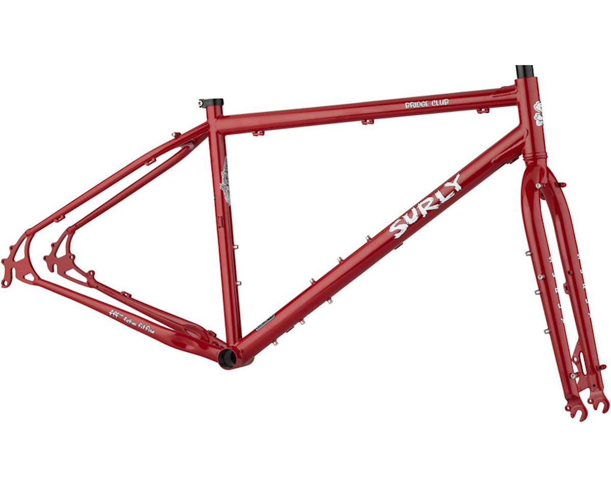 Surly Bridge Club Frameset (Grandma's Lipstick) (Small)