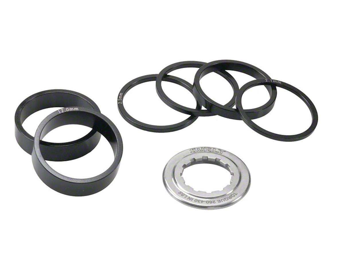 Single-Speed Kit, Spacers and Lockring