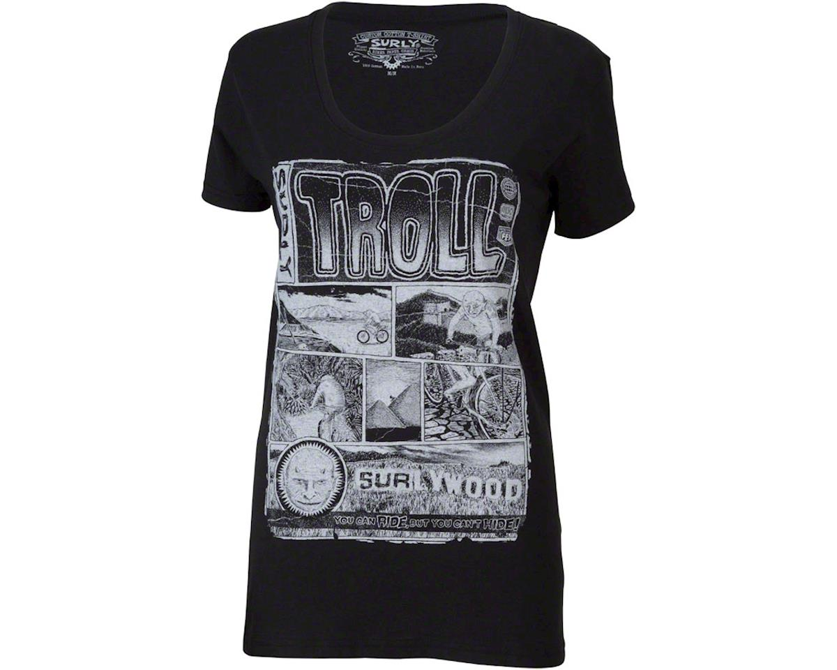 Surly Troll Women's T-Shirt (Black) (XL)