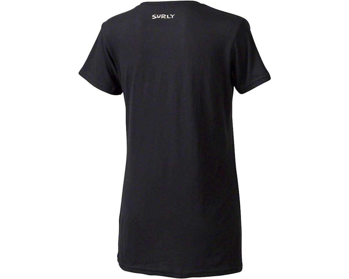 Surly LGCY Steamroller Women's T-Shirt (Black) (L)