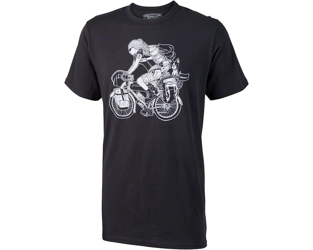 Surly Long Haul Trucker Edna T-Shirt: Black XL