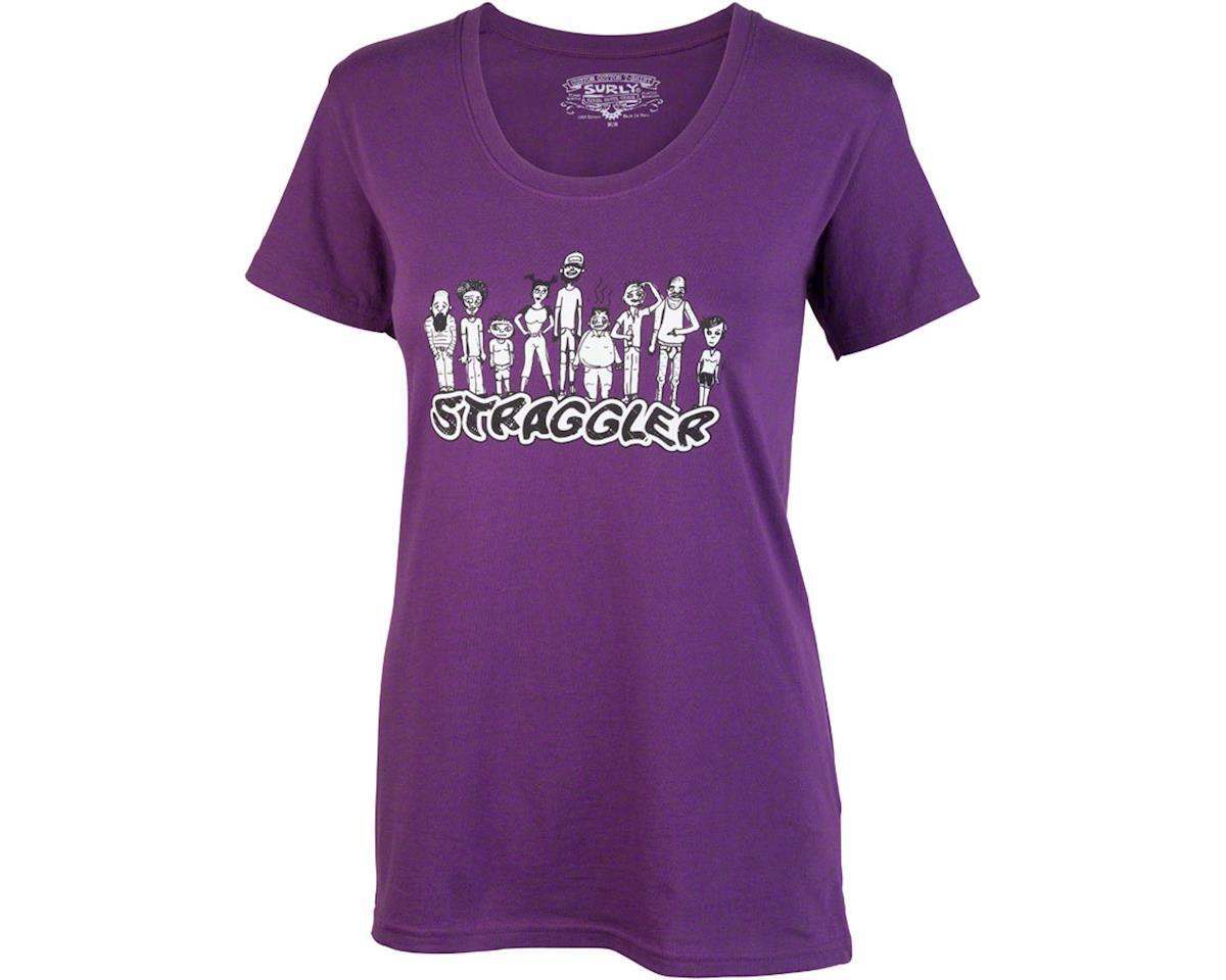 Surly Straggler Women's T-Shirt: Purple XL