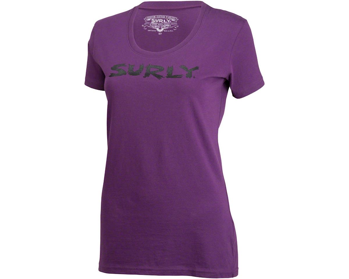 Surly Logo Women's T-Shirt (Purple)