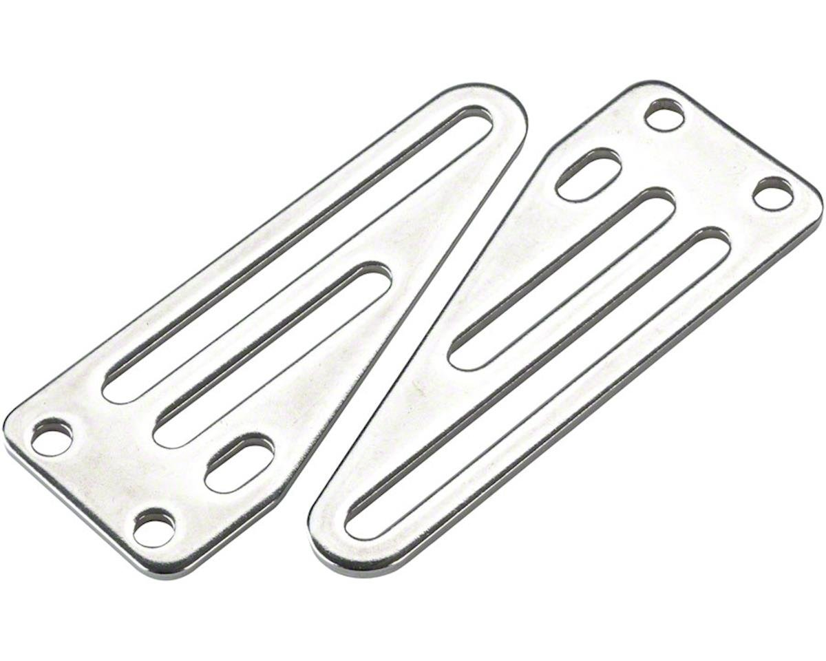 Surly Front Rack Upper Non-Offset Sliding Mounting Plates for Uni-Crown Forks