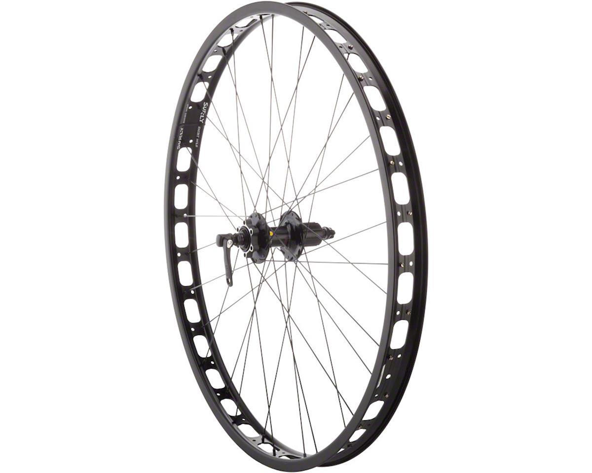 Rabbit Hole Rear Wheel: 29+ QR x 135mm 0mm Offset Shimano 529 10/11 Speed