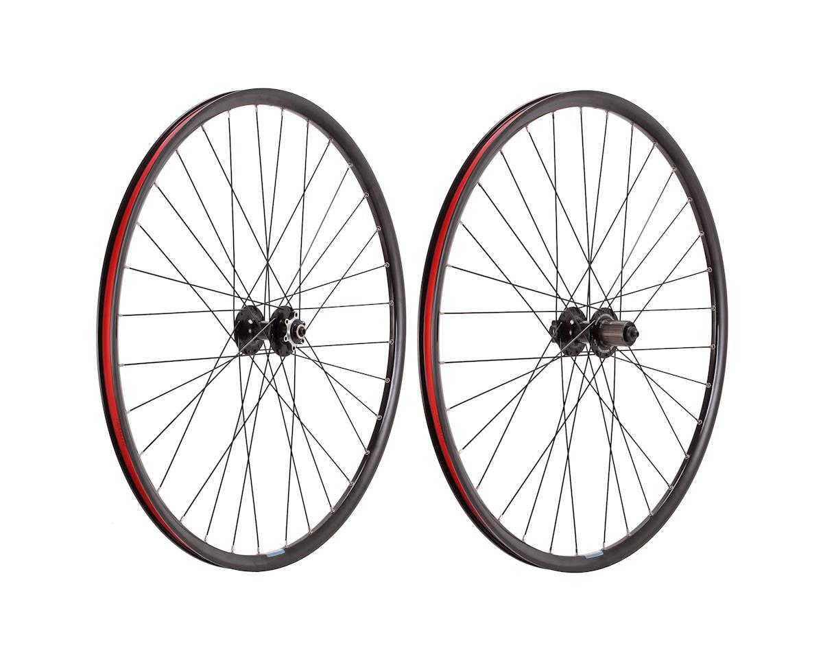 CX disc 700c wheelset, black