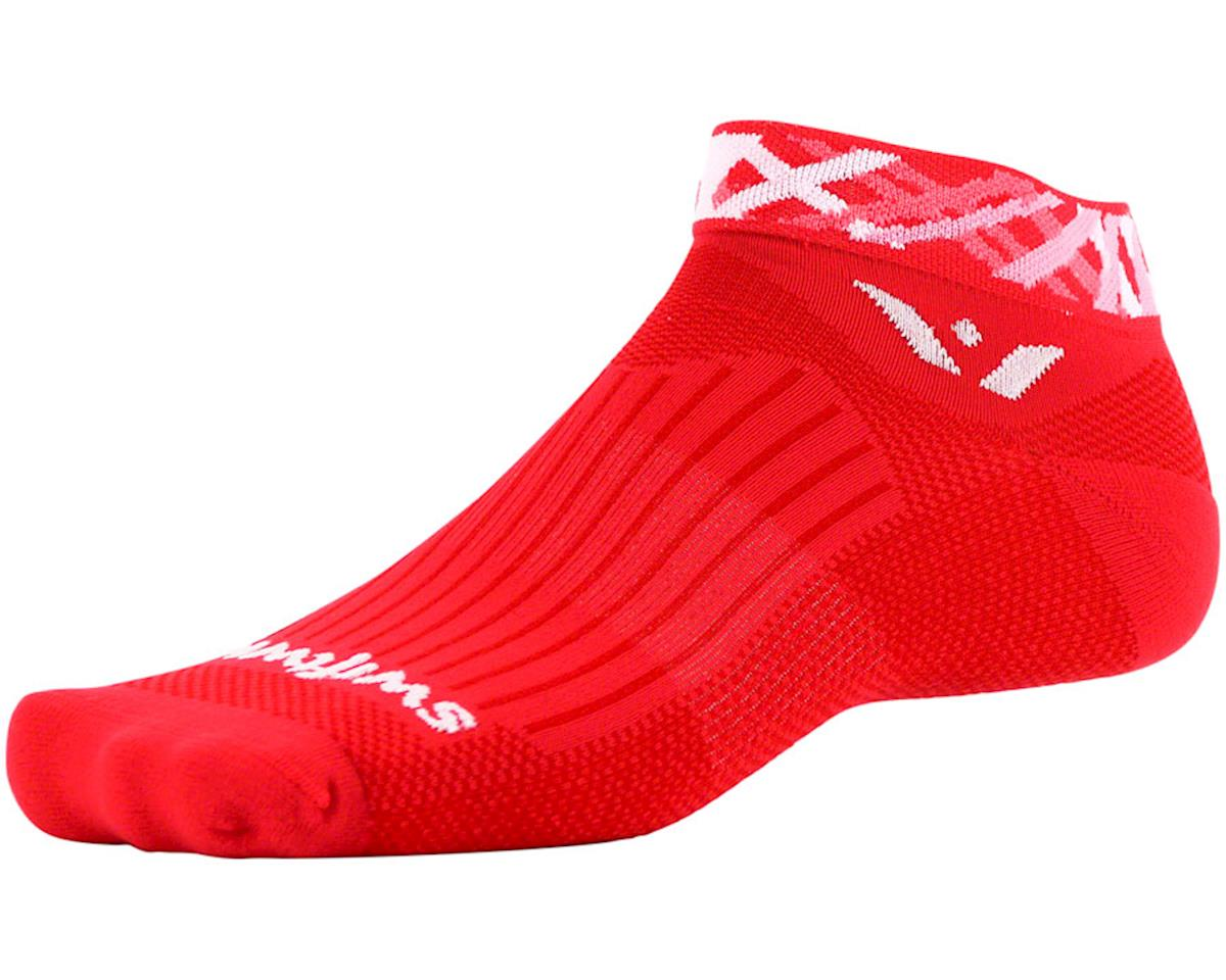 Swiftwick Vision One Spotlight Sock (Red) (S)