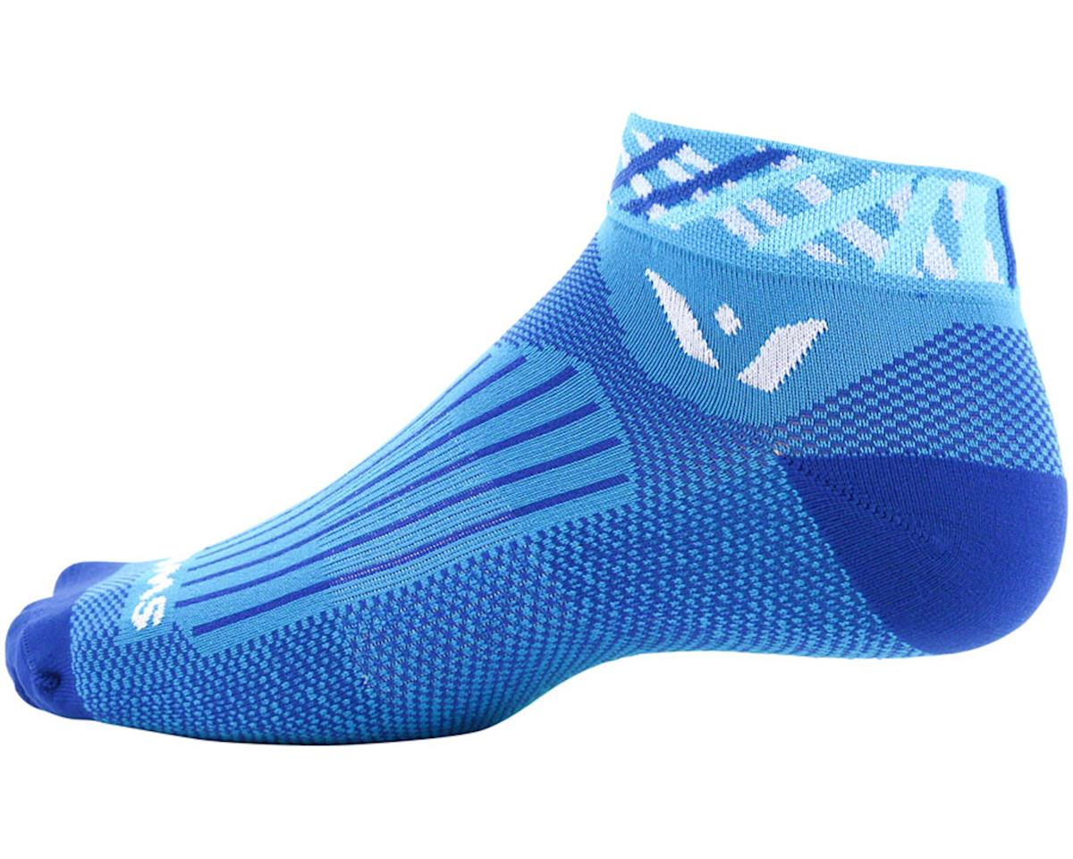 Swiftwick Vision One Spotlight Sock (Azure Blue) (S)