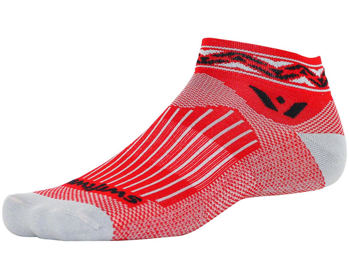 Swiftwick Vision One Apex Sock (Red) (XL)