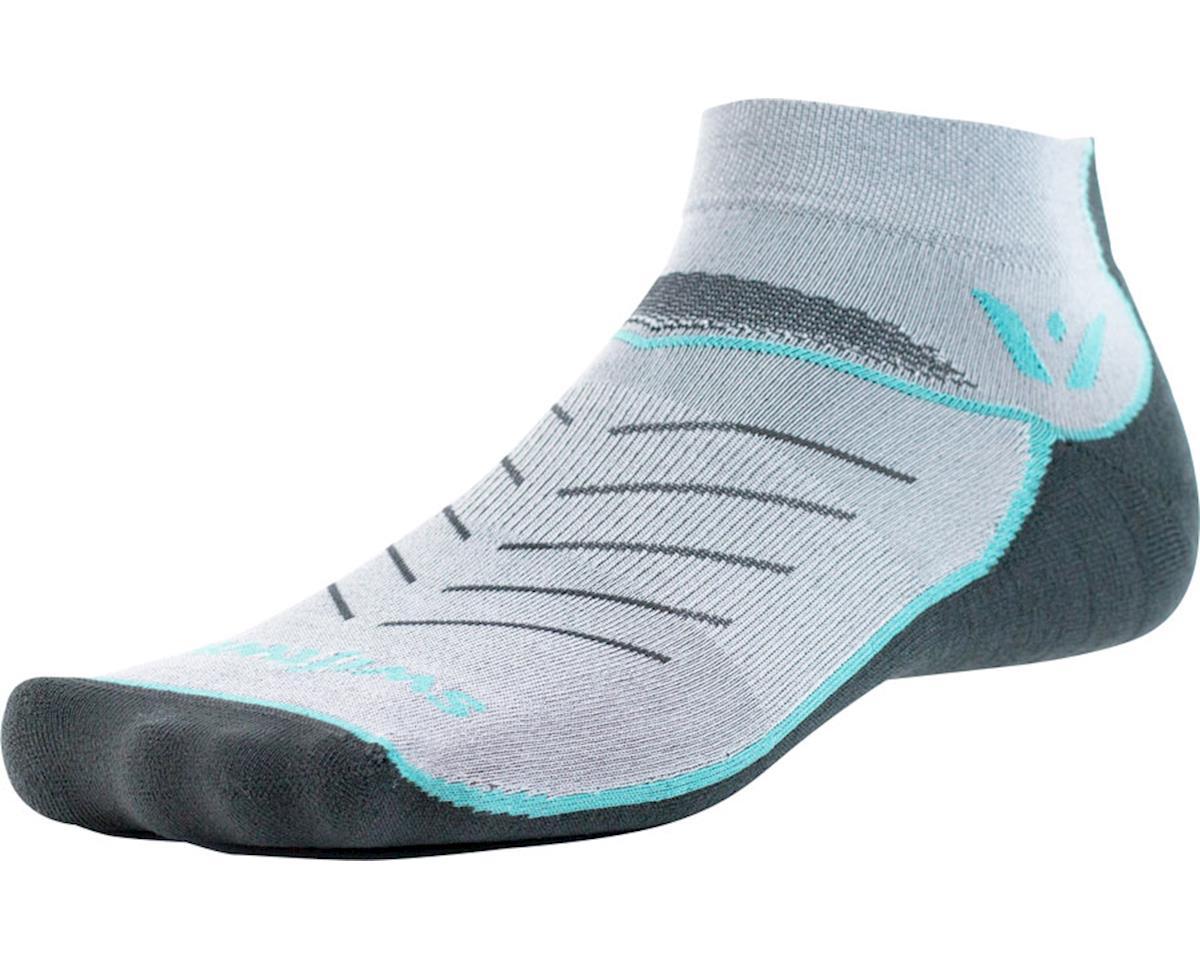 Swiftwick Vibe One Sock (Mint/Gray)