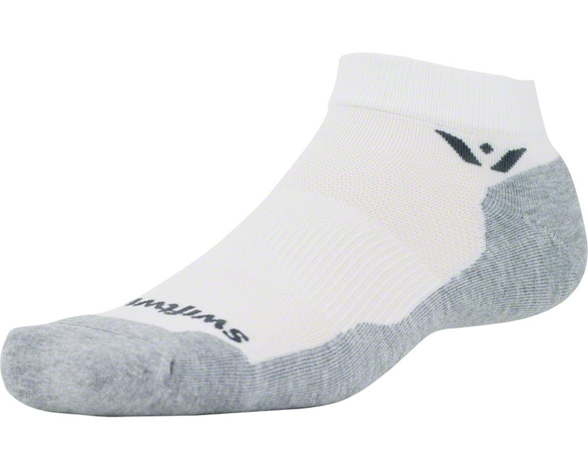 Swiftwick Maxus One Sock (White) (L)