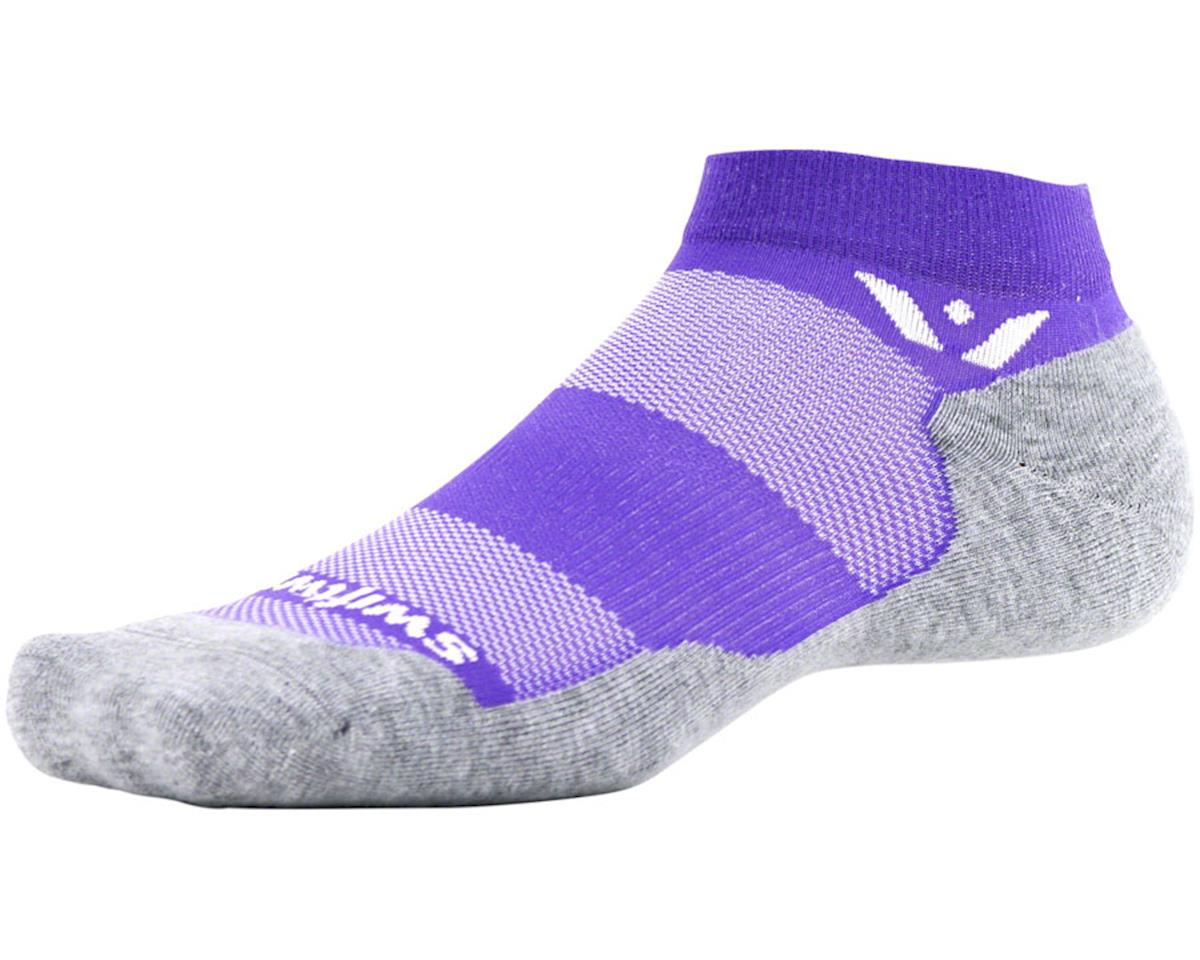 Swiftwick Maxus One Sock (Violet Purple) (L)