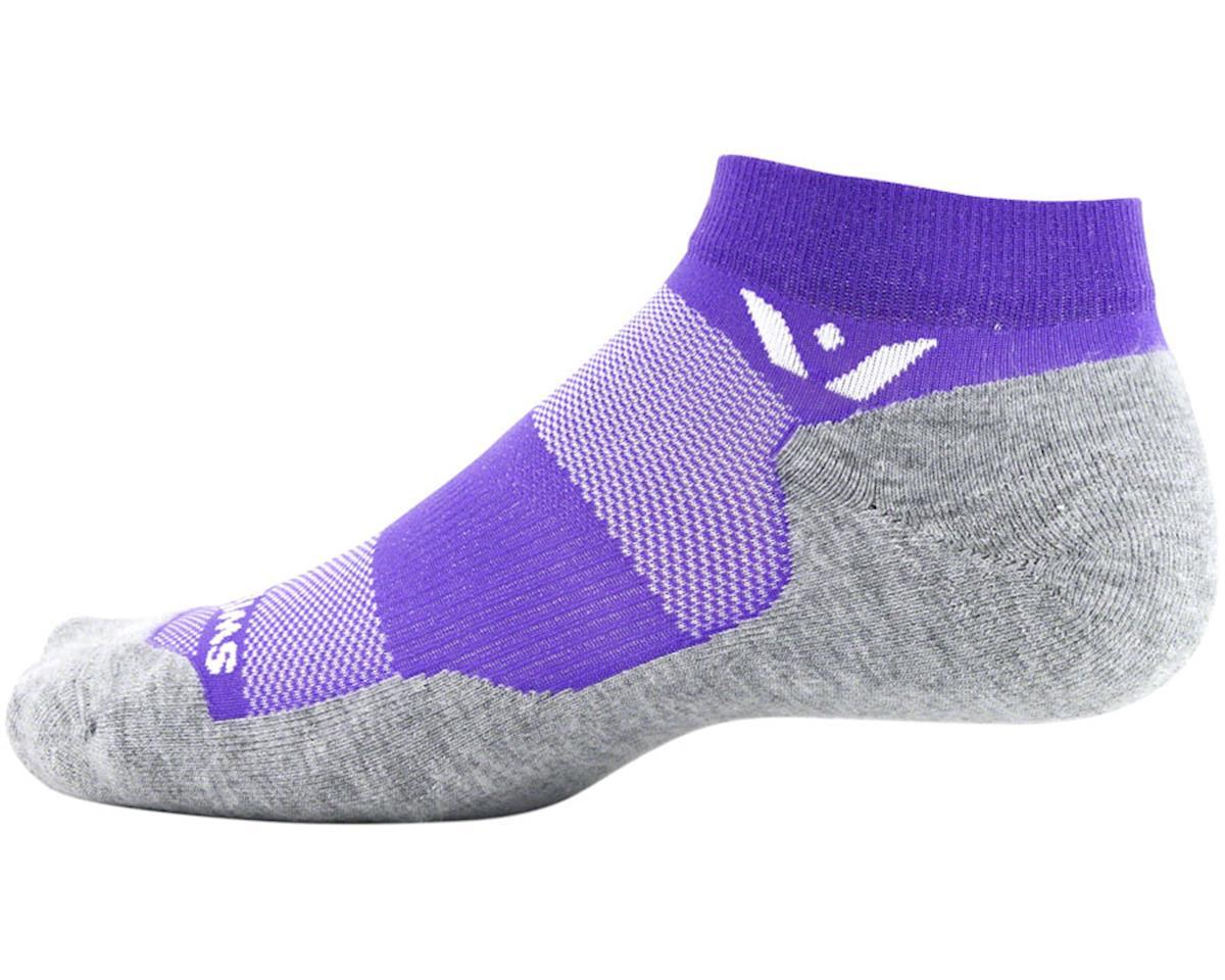 Swiftwick Maxus One Sock (Violet Purple) (L)