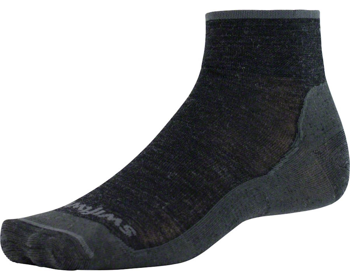 Swiftwick Pursuit Four Ultra Light Hike Sock (Coal Gray)