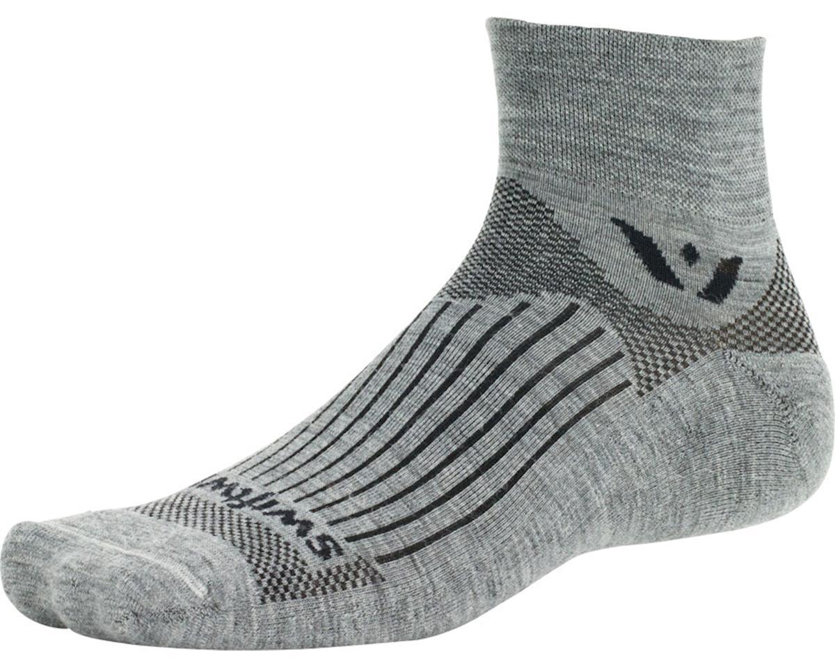 Swiftwick Pursuit Two Sock (Heather Gray)