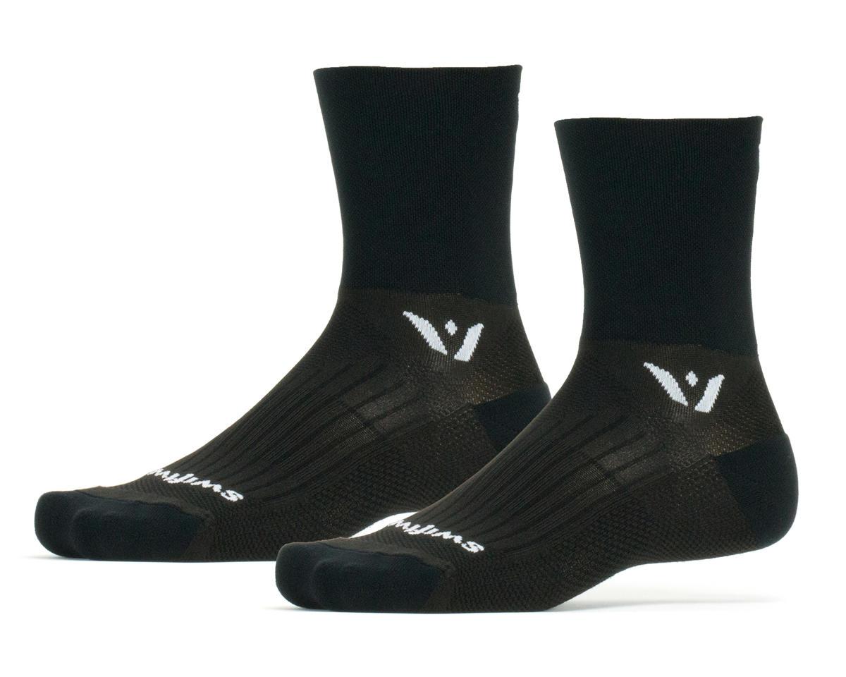 Swiftwick Performance Four Sock (Black) (L)