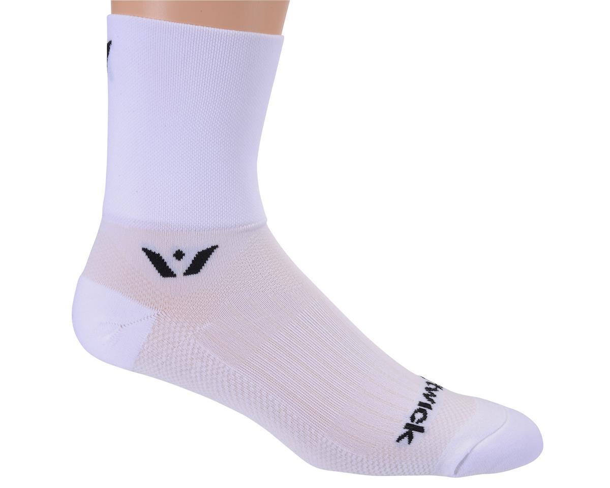 Swiftwick Performance Four Sock (White)