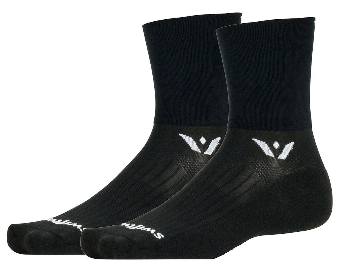 Swiftwick Aspire Four Sock (Black) (XL)