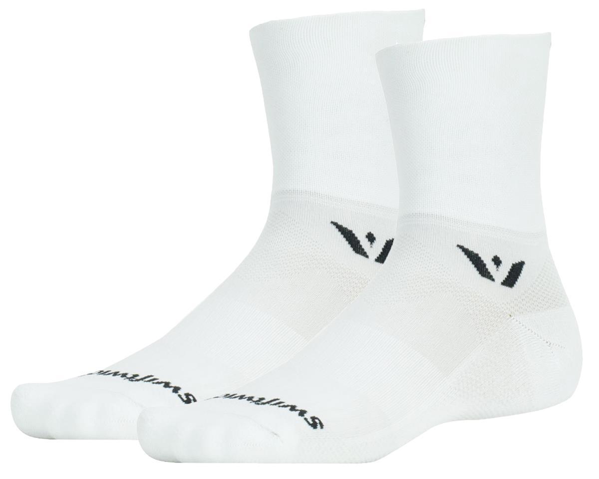 Swiftwick Aspire Four Sock (White) (L)