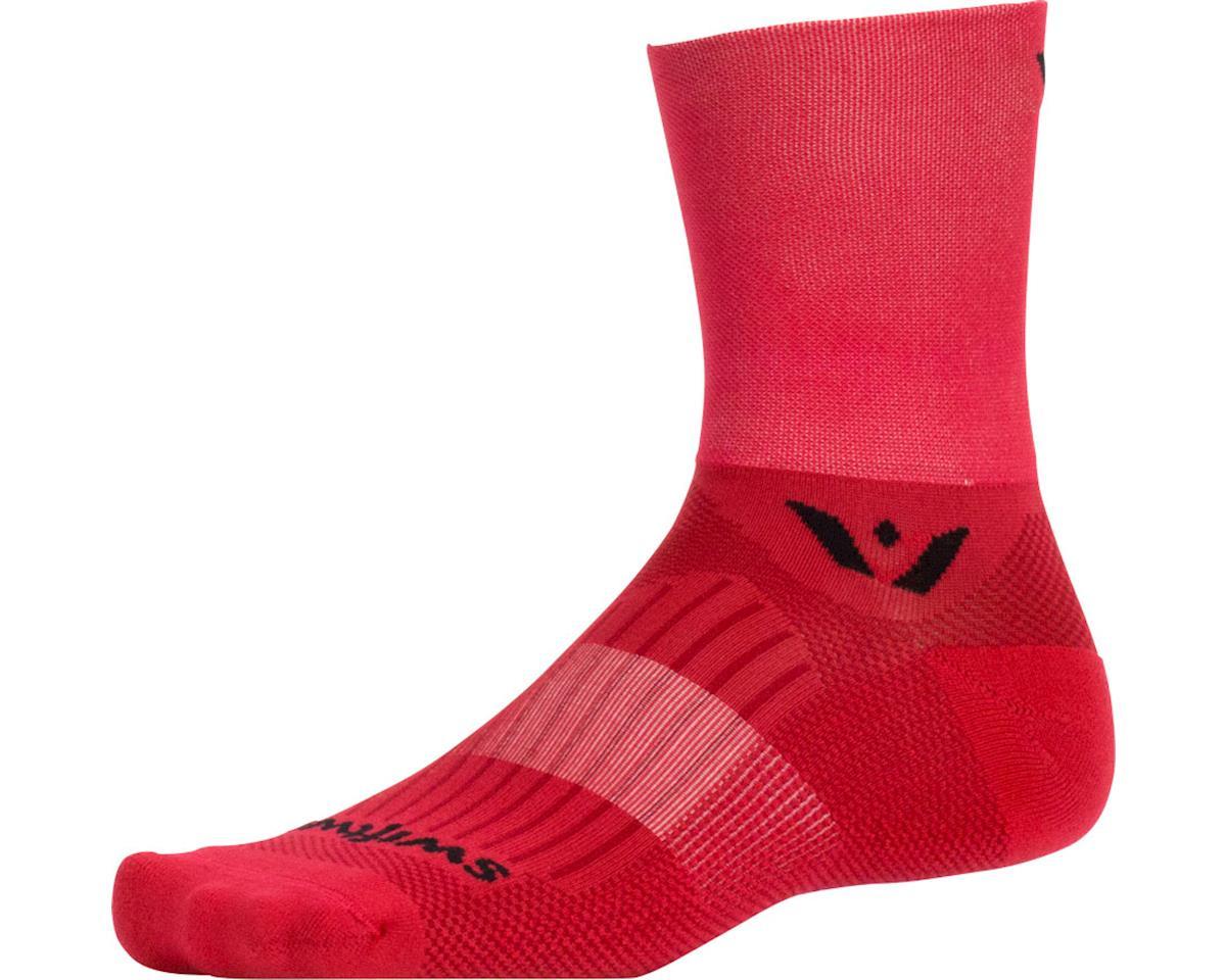 Swiftwick Aspire Four Sock (Red) (M)