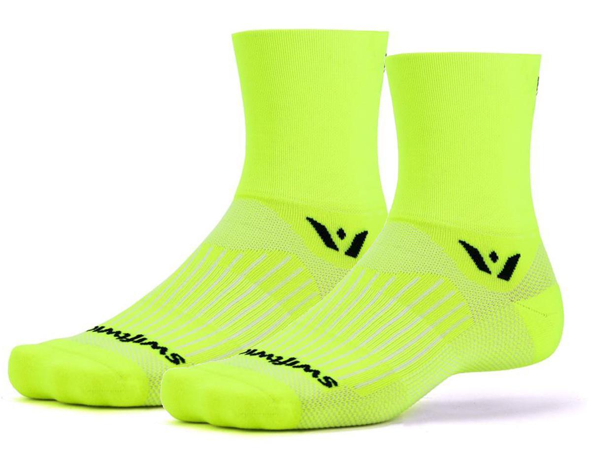 Swiftwick Aspire Four Sock (Hi-Vis Yellow)