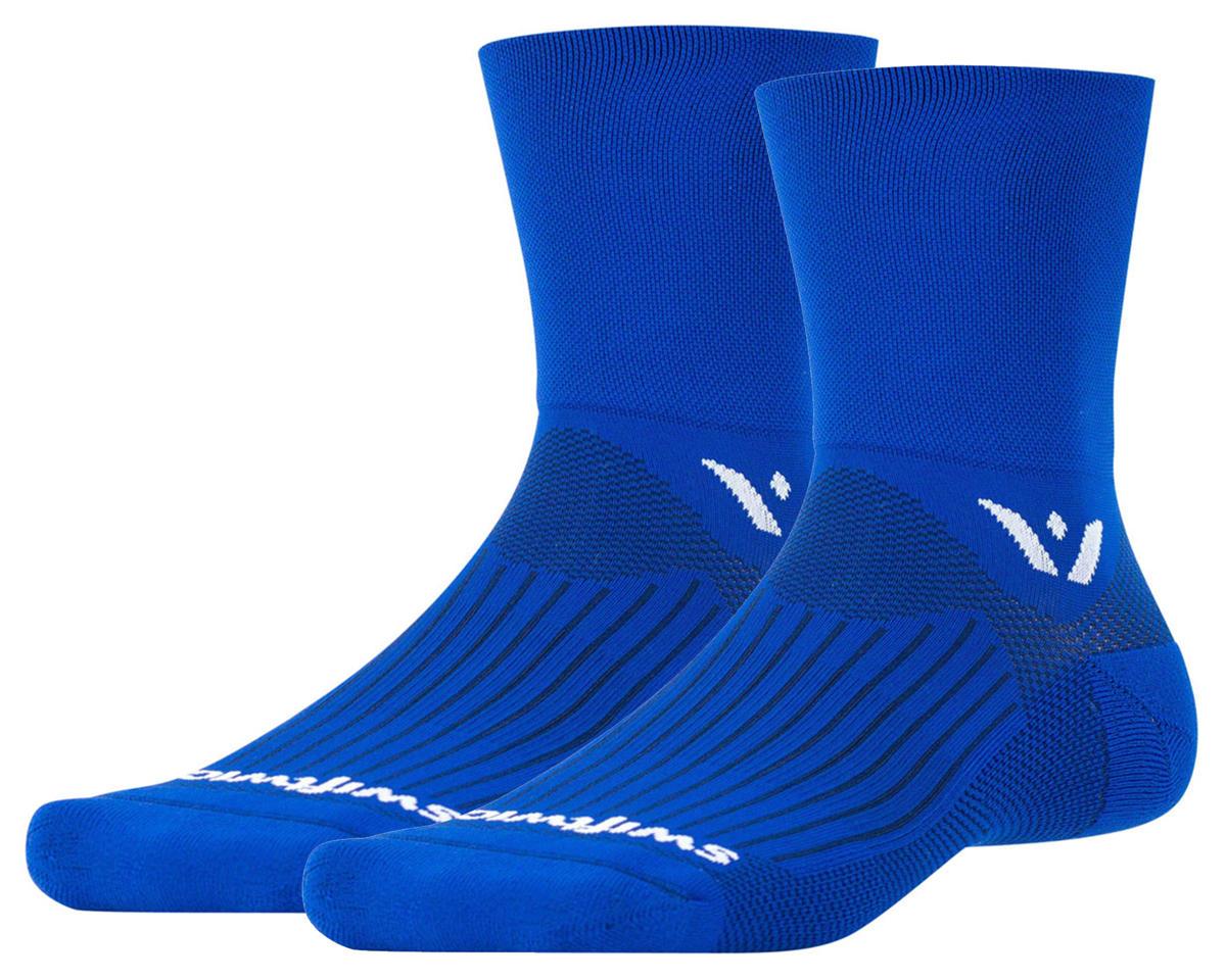 Swiftwick Aspire Four Sock (Cobalt Blue) (L)