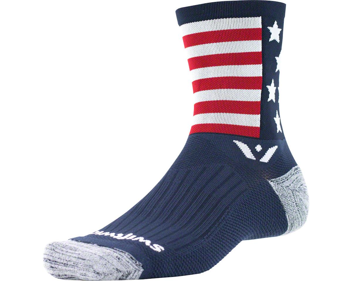 Swiftwick Vision Spirit Five Sock (American) (S)