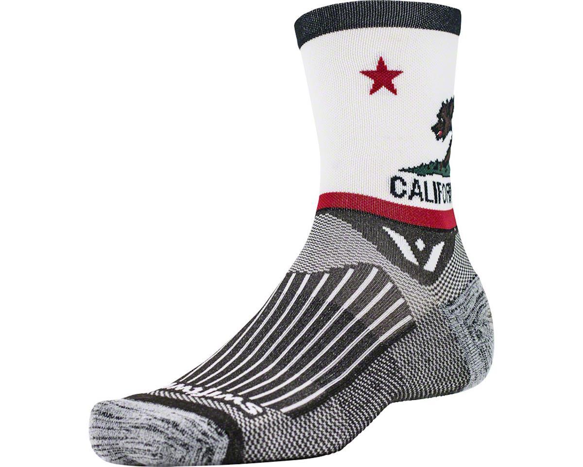 Swiftwick Vision Spirit Five Sock (California) (L)