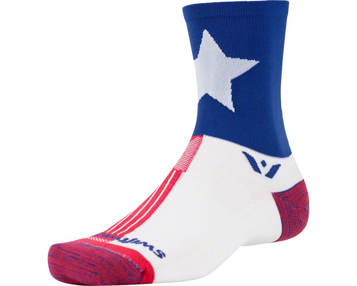 Swiftwick Vision Spirit Five Sock (Texas) (L)