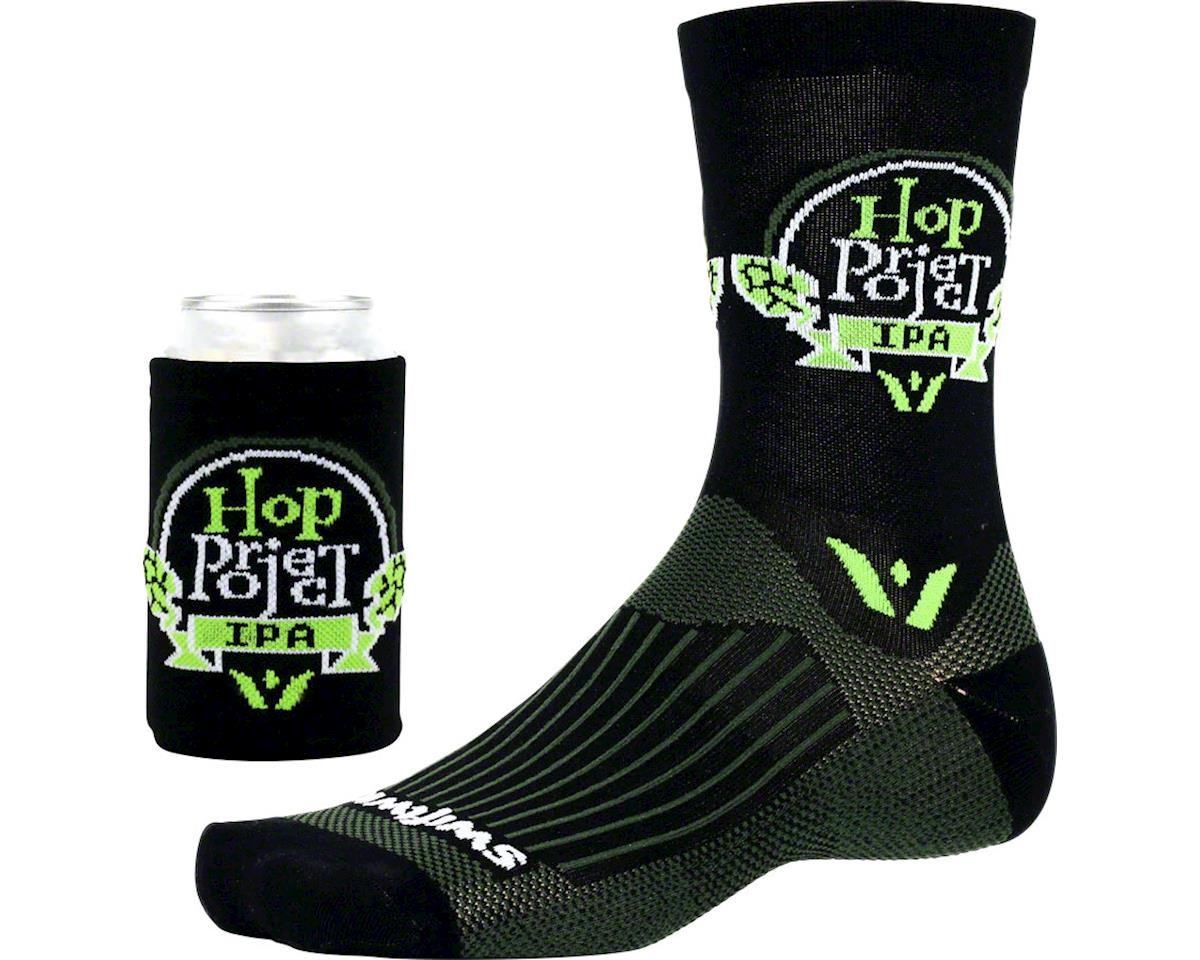 Swiftwick Vision Five Beer Series Sock (Hop Project/Black)