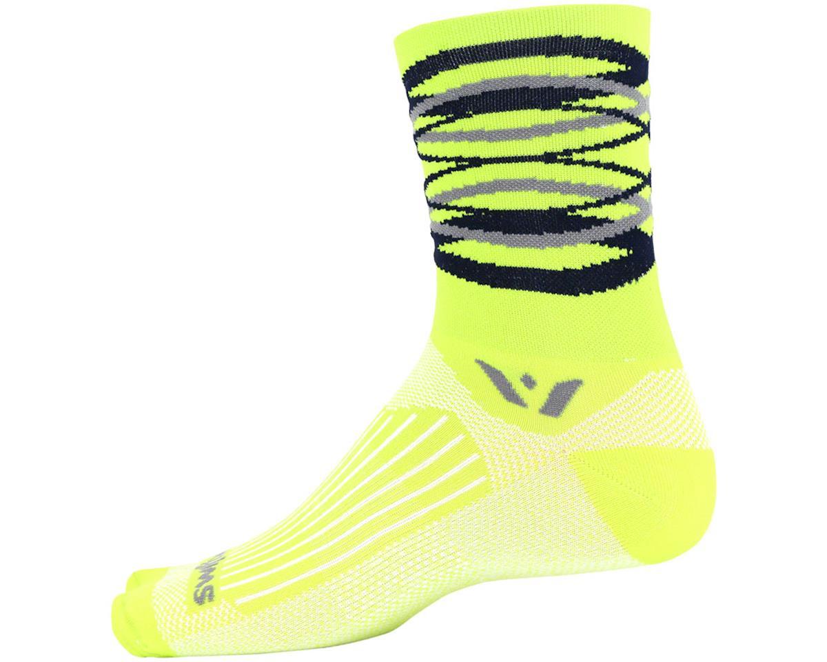 Swiftwick Vision Five Infinity Sock (Citron Yellow) (L)