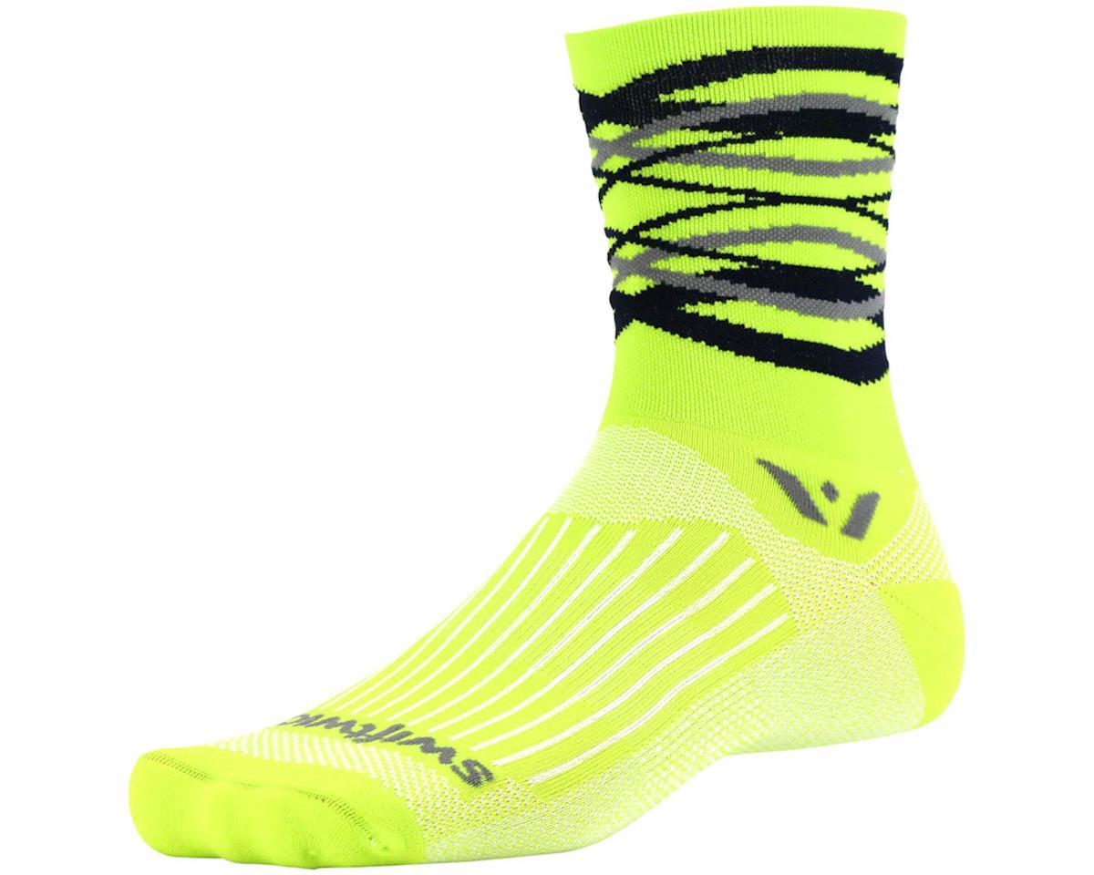 Swiftwick Vision Five Infinity Sock (Citron Yellow) (M)