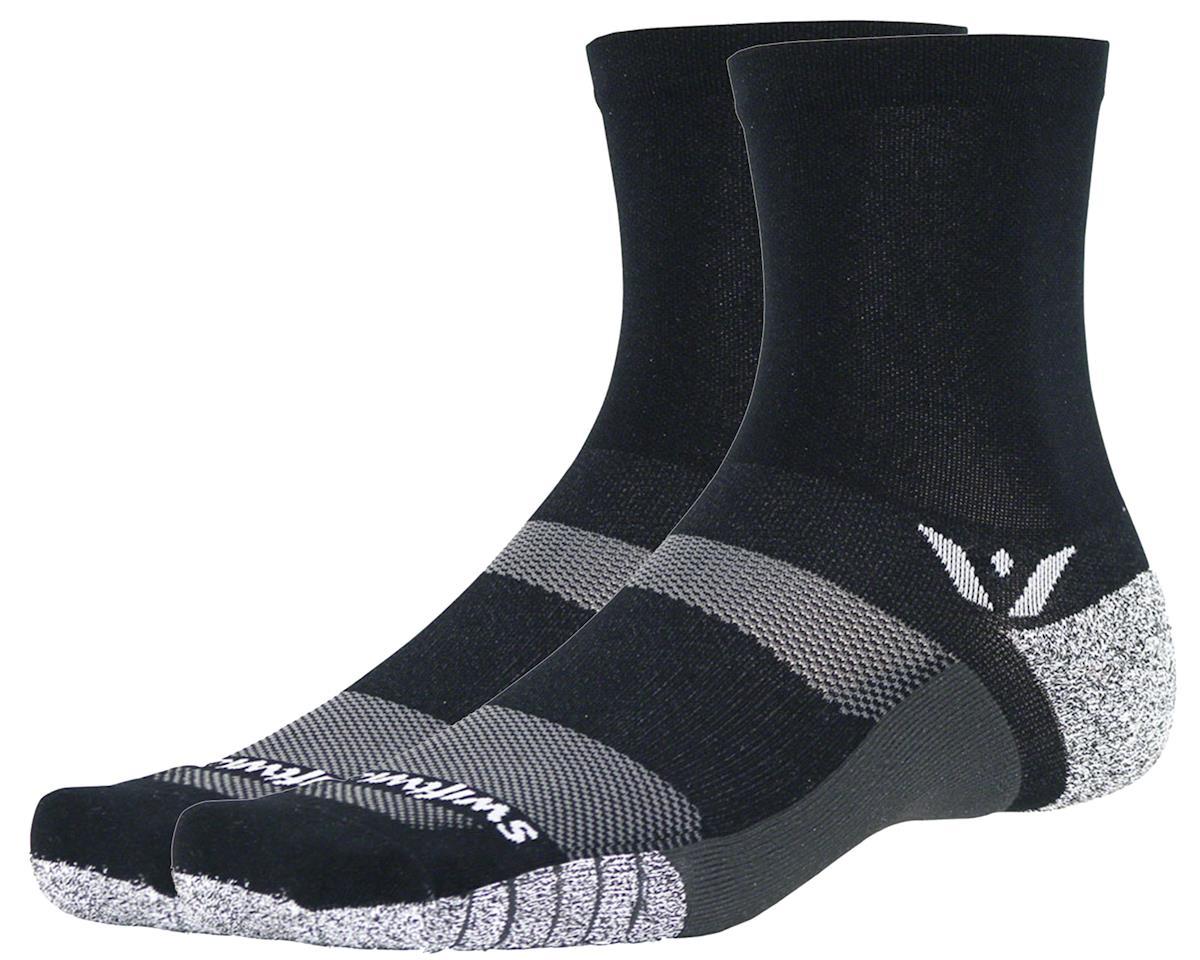 Swiftwick Flite XT Five Sock (Black) (M)
