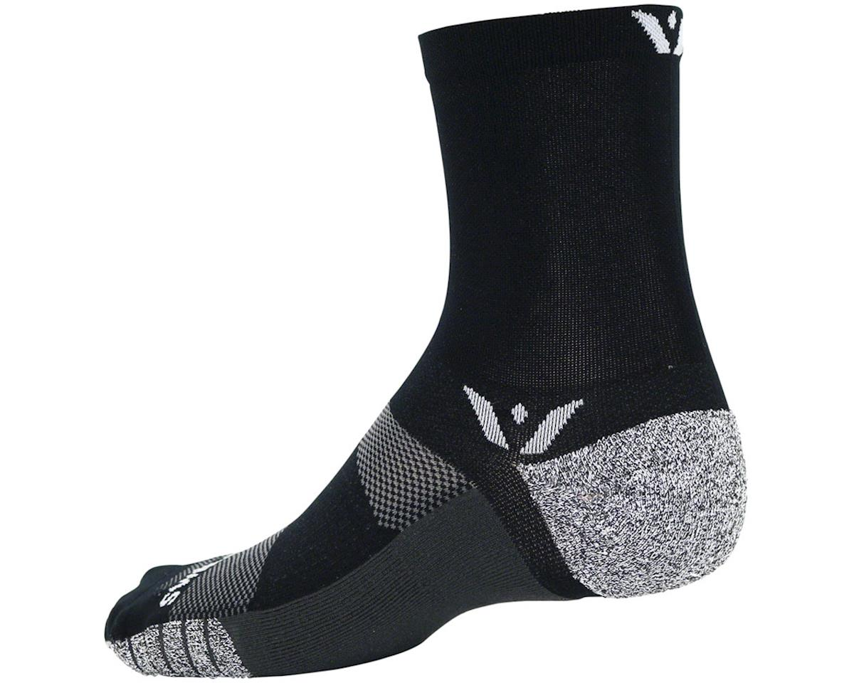 Swiftwick Flite XT Five Sock (Black) (S)