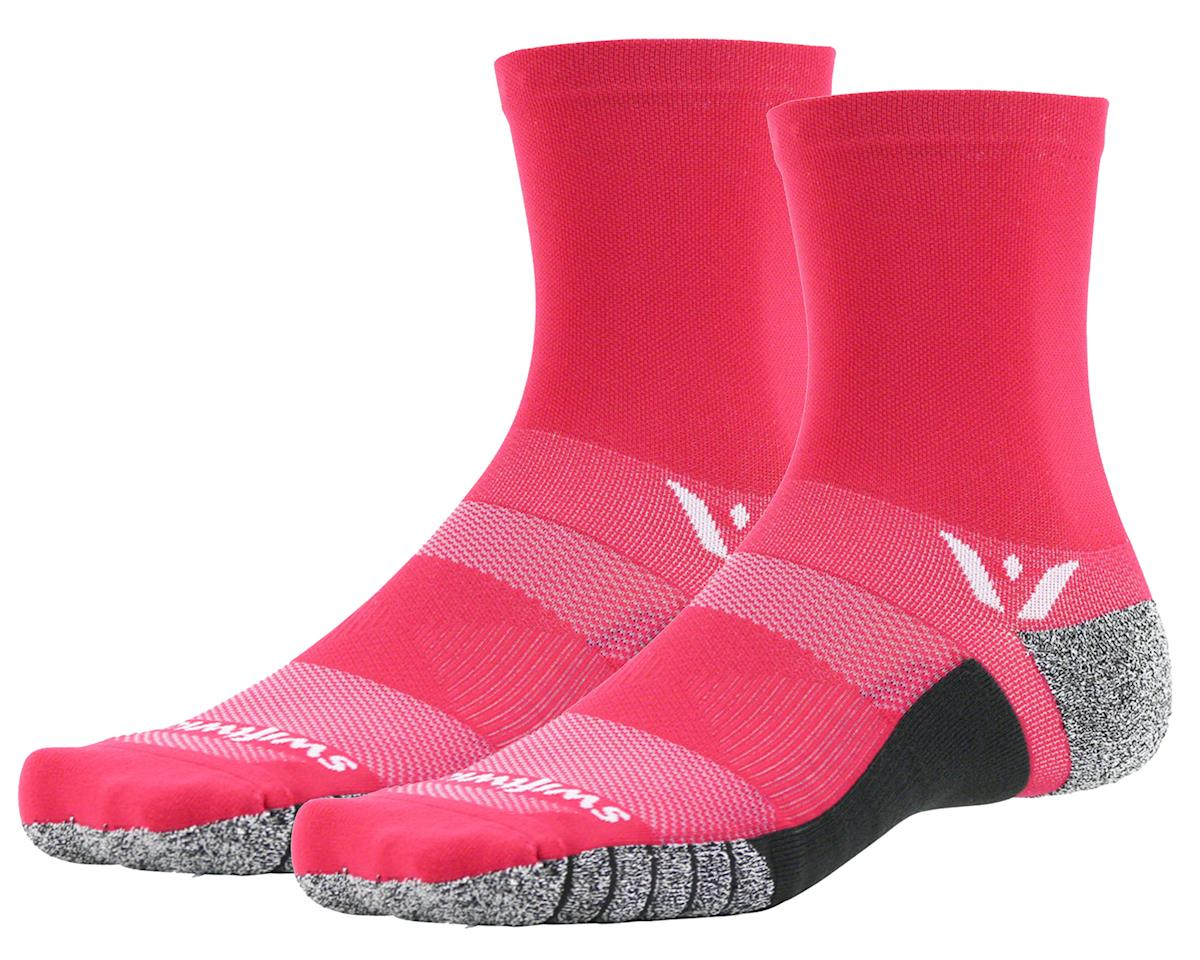 Swiftwick Flite XT Five Sock (Pink) (L)