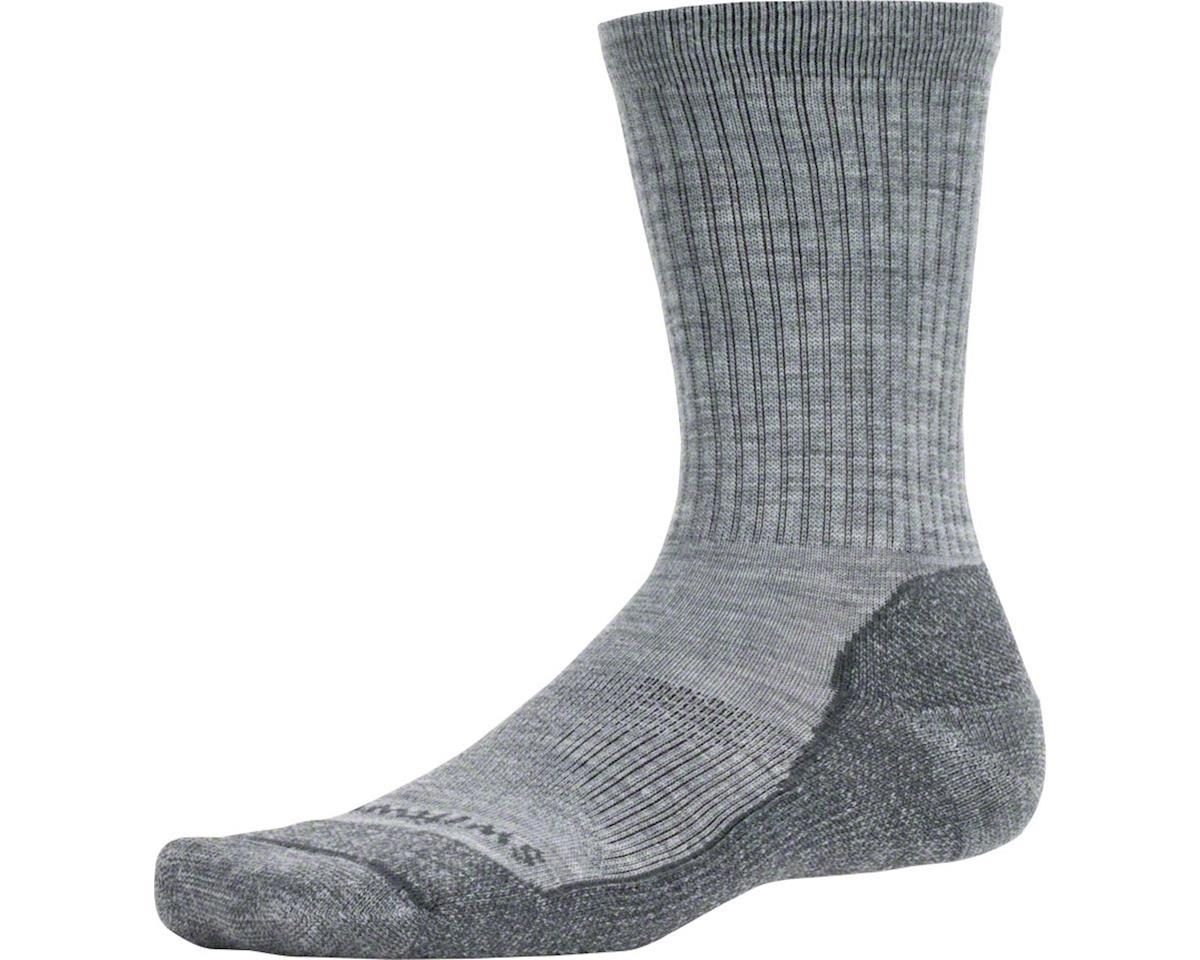 Swiftwick Pursuit Six Light Cushion Hike Sock (Heather/Gray) (S)
