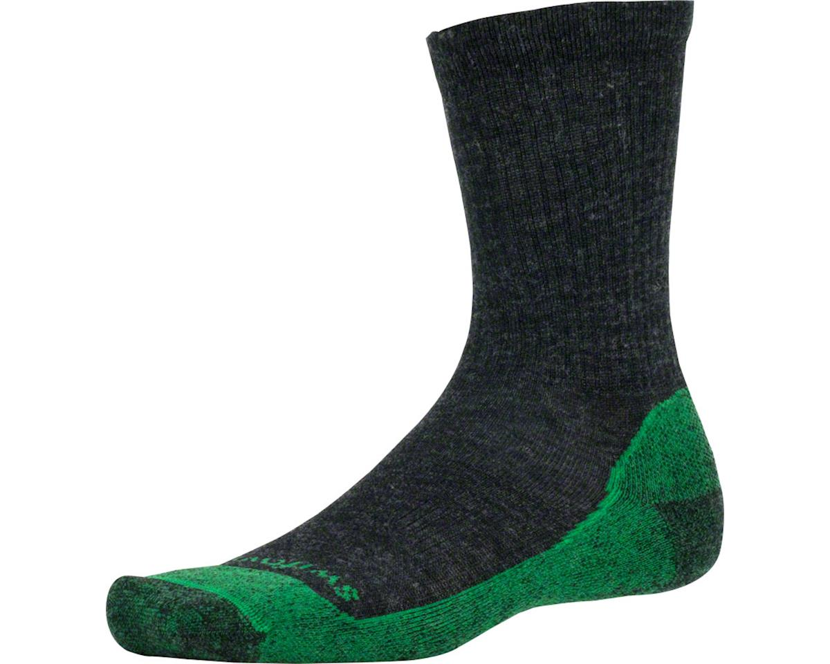 Swiftwick Pursuit Six Light Cushion Hike Sock (Coal Gray) (S)