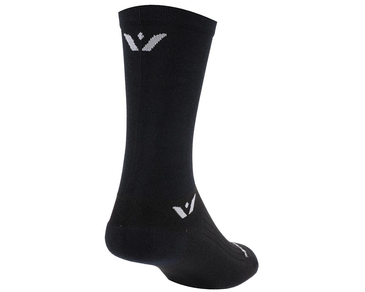 Image 1 for Swiftwick Performance Seven Sock (Black) (M)