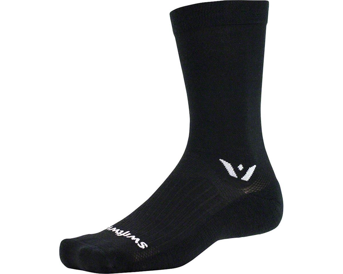 Swiftwick Pursuit Seven Sock (Black)