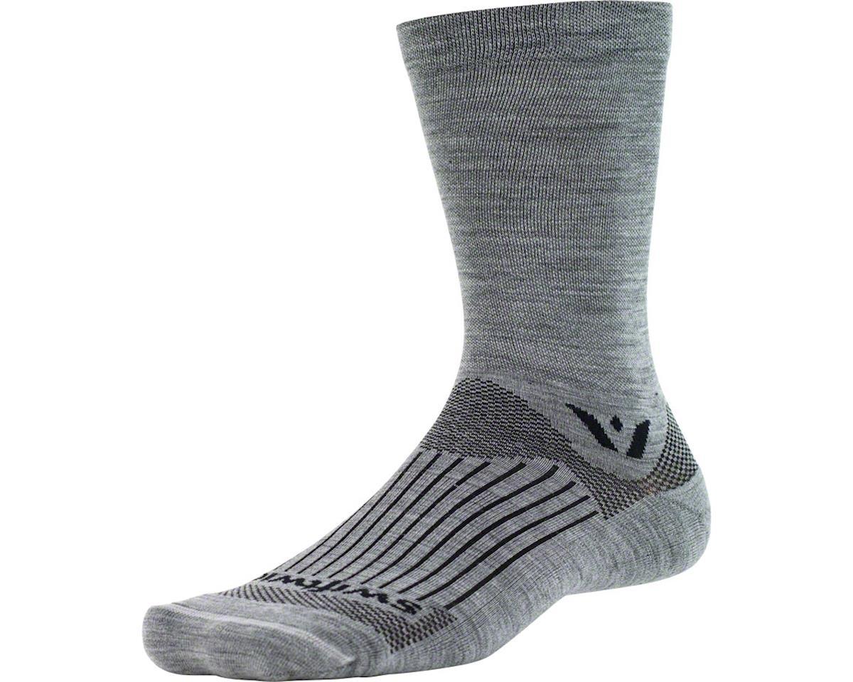 Swiftwick Pursuit Seven Sock: Heather SM