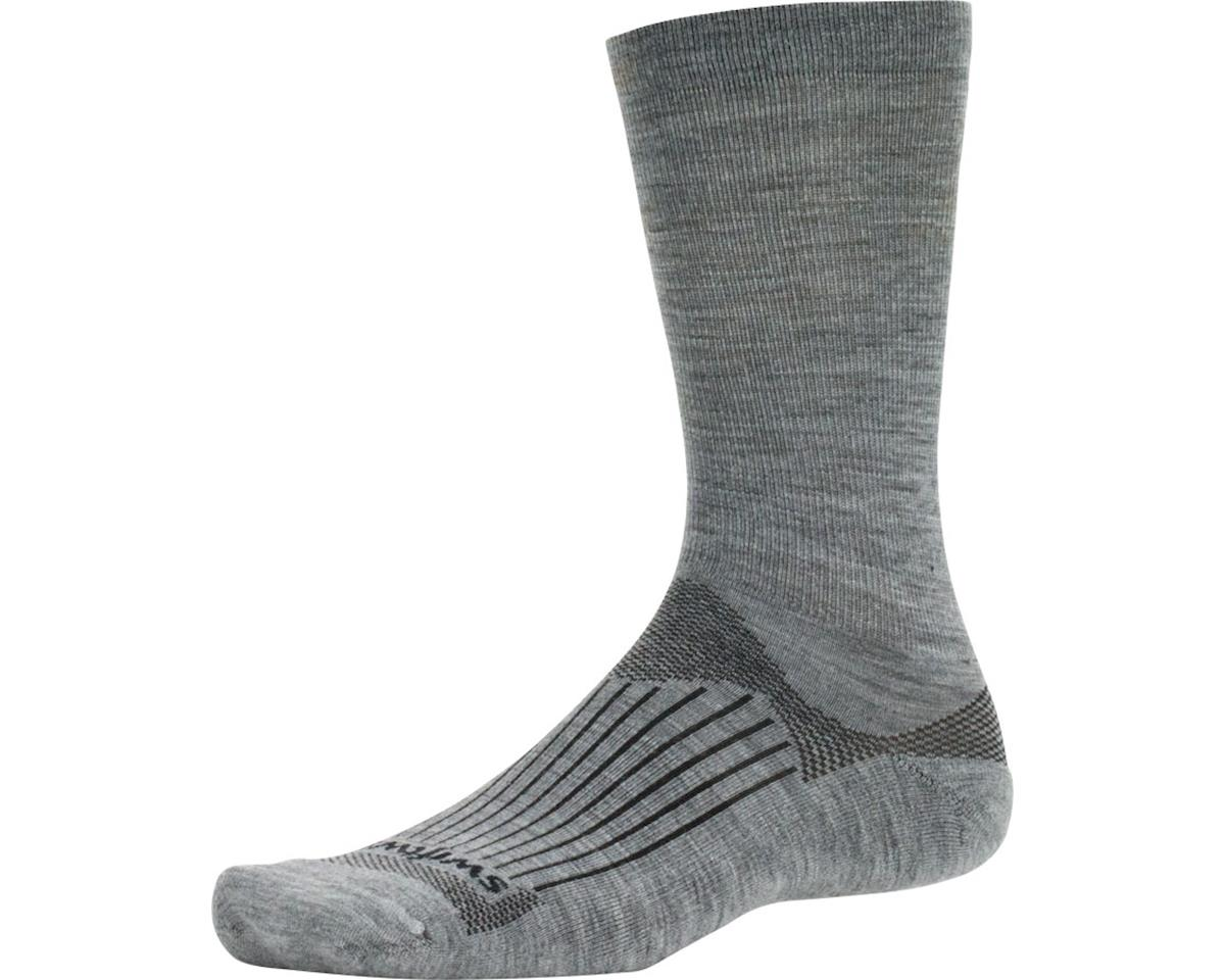 Swiftwick Pursuit Seven Sock (Heather Gray) (XL)