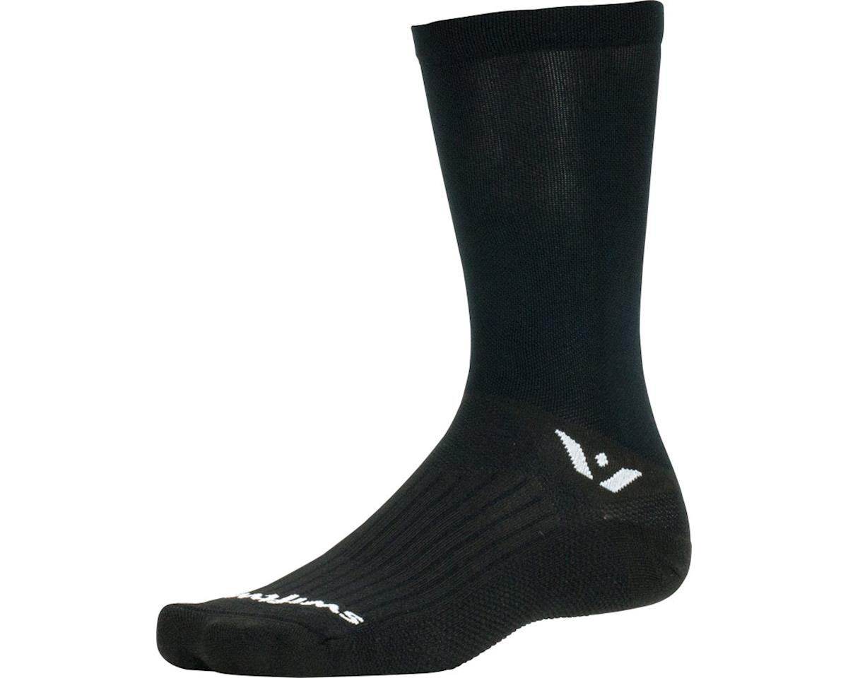 Swiftwick Aspire Seven Sock (Black) (L)