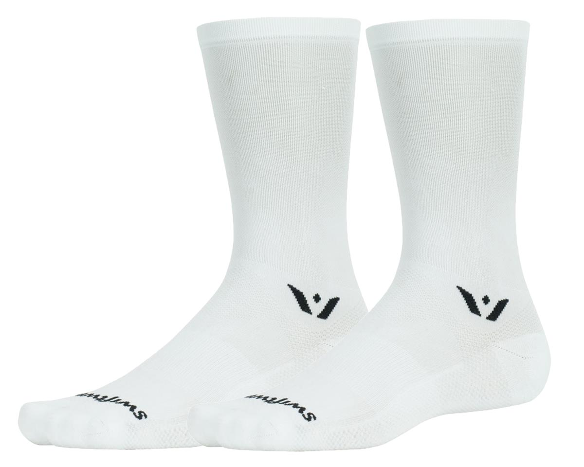 Swiftwick Aspire Seven Sock (White) (L)