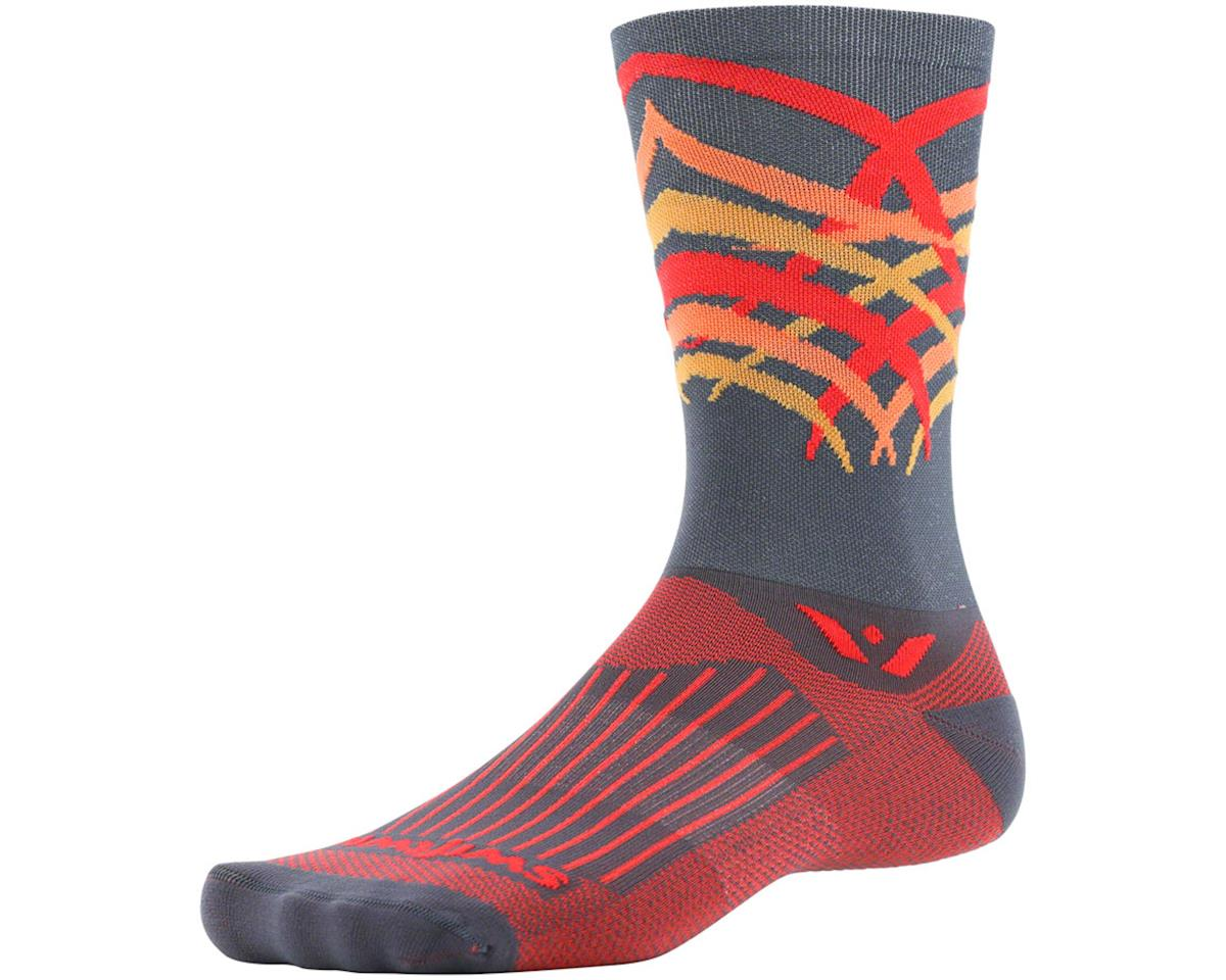 Swiftwick Vision Seven Shred Sock (Gray) (M)