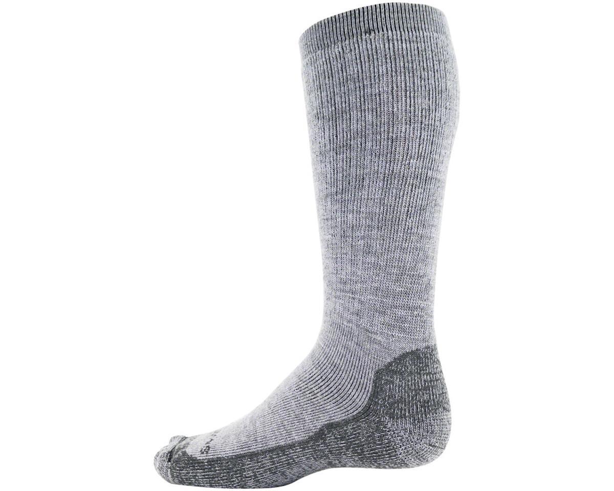 Swiftwick Pursuit Eight Heavy Cushion Hike Sock (Heather Gray) (L)