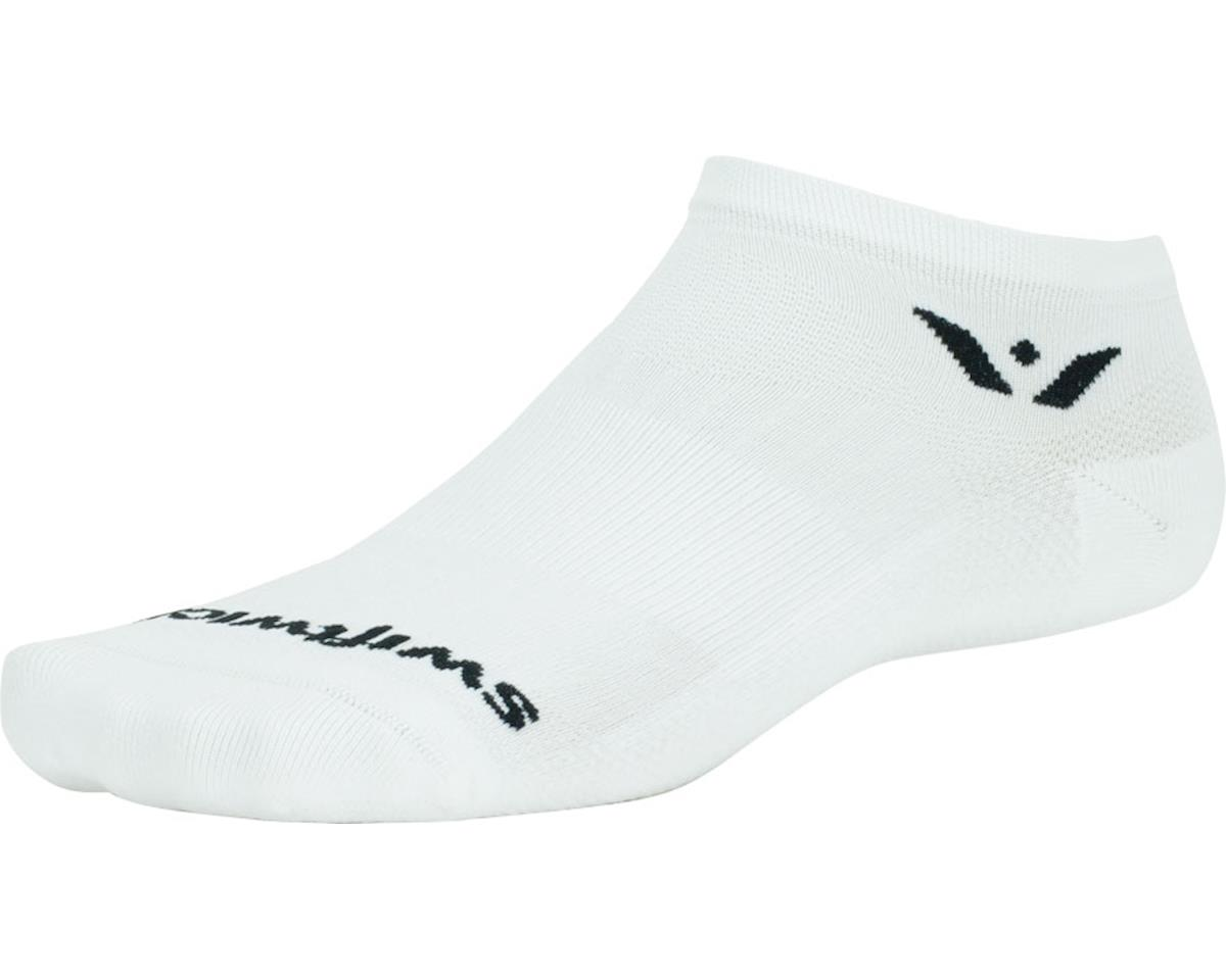 Swiftwick Performance Zero Sock (White) (L)
