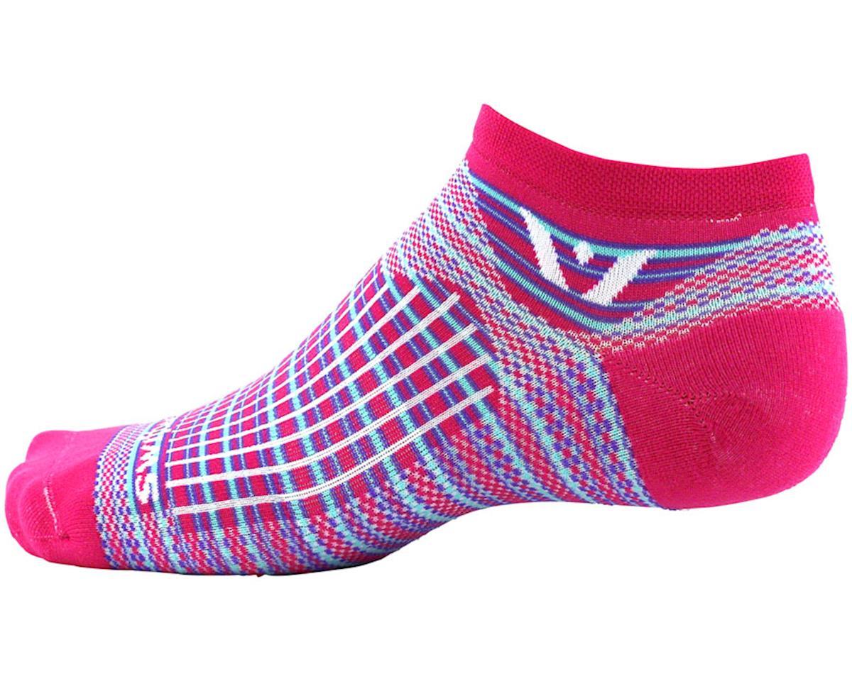 Swiftwick Aspire Stripe Zero Sock (Pink/Purple) (S)