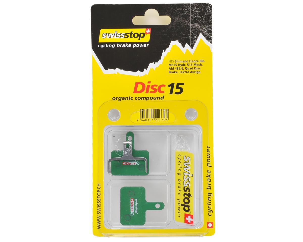 Image 2 for Swissstop Disc 15 Organic Brake Pads (Deore M525, M575, M486, M485, M486)