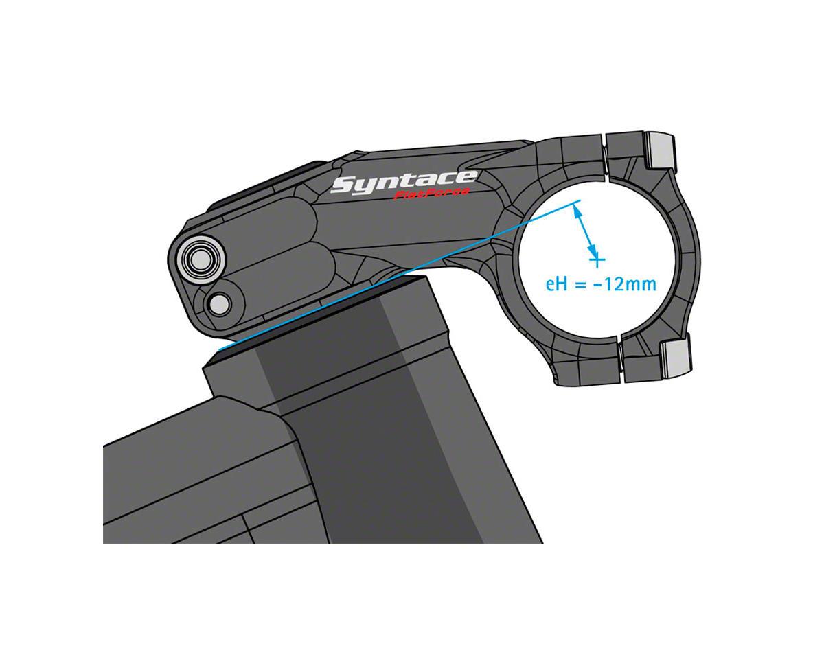 "Syntace Flatforce Stem (31.8mm) (1-1/8"") (66mm Length) (-21°) (-12mm Drop)"